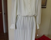Vintage Lizzy and Johnny Dress/New With Tags!/Size10/ 80s Vintage Dress