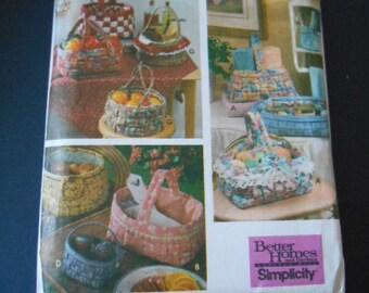 Simplicity  9420, Baskets