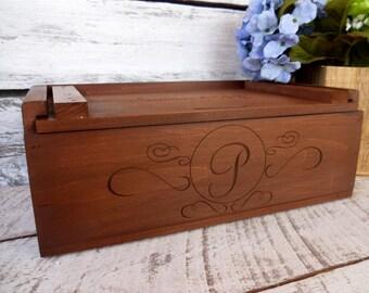 Wine Box, Wedding Wine Box, Custom and Engraved Wine Box, Love Letter Ceremony Wine Box, Wine Box For Wedding Box, Anniversary Wine Box