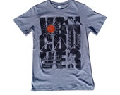 KT&Paul Vancouver Typography Hand Screen Printed T-shirt  Free Postage US Canada