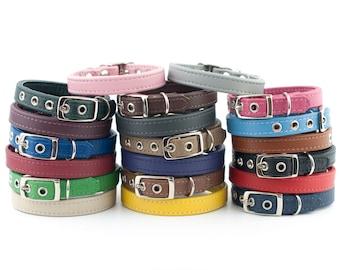 Soft Leather Dog Collar