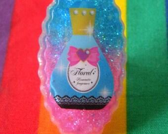 Perfume Bottle Resin Ring