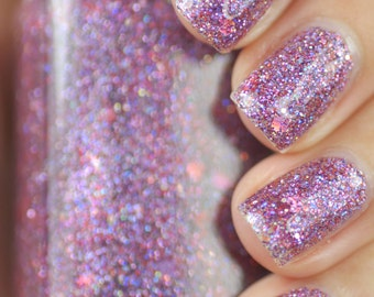 Fancy Pants Radiant Orchid Glitter Nail Polish 15ml (.5oz)