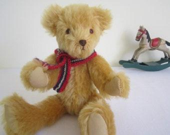 HANDMADE artist bear - German mohair, OOAK, hand stitched