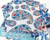 Limited Edition Mini Scrap Bag of Liberty Tana Lawn - blues
