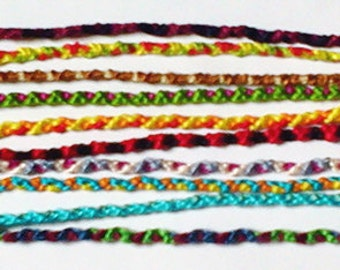 Super Thin Random Friendship Bracelet