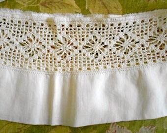 Victorian Crochet Panel