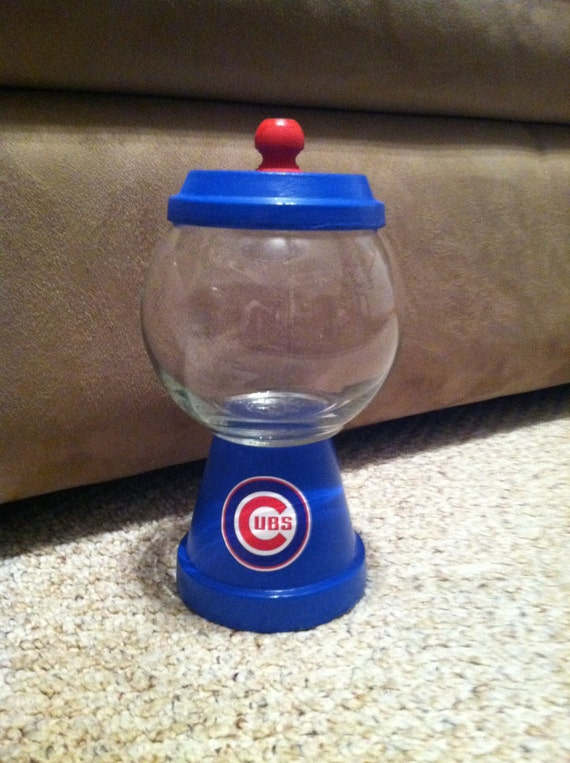 Chicago Cubs Gumball/Candy Dish
