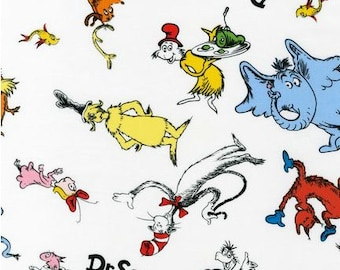 LAST YARD - Kaufman - Celebrate Seuss - Dr. Seuss All Over