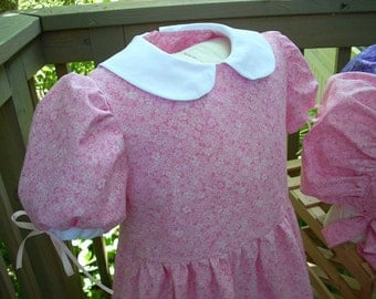 """Girls Pioneer Dress """"Mary"""" Special Order Only"""