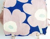 Messenger Bag - Marimekko - Poppy Unikko - Pink Flowers