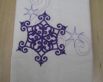 Winter Snowflake Towel - EXTRA STOCK