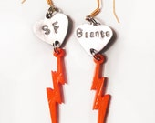 SF Giants earrings