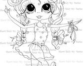 INSTANT DOWNLOAD Digital Digi Stamps Big Eye Big Head Dolls Digi  My - Besties  IMG310 By Sherri Baldy
