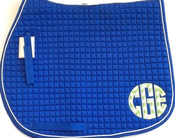 Monogram Saddle Pad