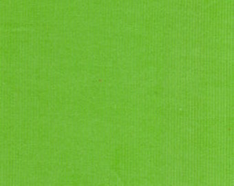 """Lime Baby Wale Corduroy 42"""" Wide 100% Cotton"""