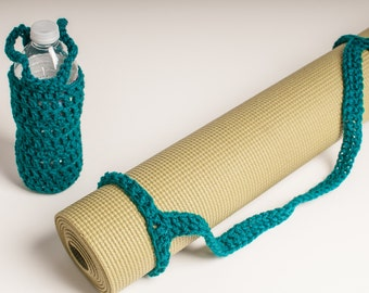 Bottle Carrier, and Matching Yoga Mat Sling