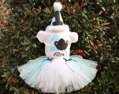 Alice in ONEderland teapot shirt, tutu and hat set