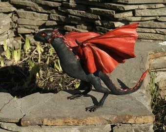OOAK art doll poseable dragon  Drogon Game of thrones