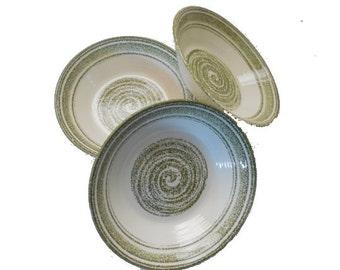 Set of 3 Ironstone, Restaurantware or  China  Bowls,  FREE SHIPPING