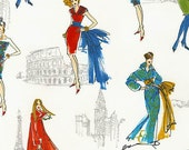 Robert Kaufman - City Chic - Scenic Fashion - Multi