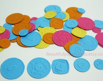 Lalaloopsy Birthday Confetti | Lalaloopsy Party Confetti | Cute as a Button Confetti | Button Confetti | 200 CT