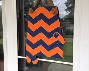 State of Alabama---Auburn door hanger