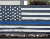 Police, Thin Blue Line Flag, Thin Blue Line, American Flag, Thin Red Line, Firefighters, Police Signs, Law Enforcement, Wooden Signs