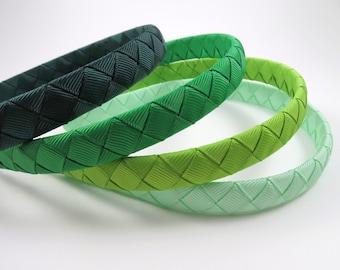 Green Headband Set - Light Green Headband - Dark Green Headband - Mint Headband - Child Toddler Teenager Adult Headband - HEADBAND GIFT SET