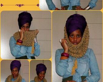 The JUFENAY Cowl - Chunky Crochet Cowl (Ready to Ship)