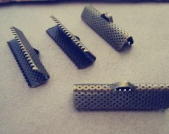 100 pcs 20mm  Antique Bronze Fasteners Clasps