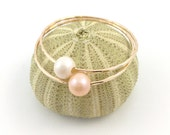 Baby Bangle Freshwater Pearl 14kt Gold Filled