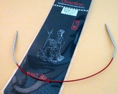 """ChiaoGoo  6012 12"""" Stainless Steel Circular Knitting Needle- Available in Sizes 0-8"""