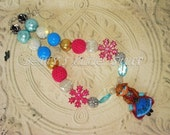 FROZEN Inspired Anna Chunky Bead Necklace