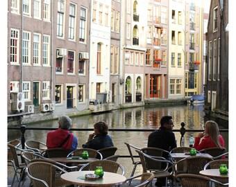 Amsterdam Cafe Photo Print