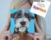 Custom Dog Portrait, Custom Pet Portrait, Custom Portrait, Original Painting on Canvas, pet memorial, pet lover