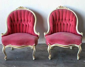 Popular items for parlor chairs on Etsy