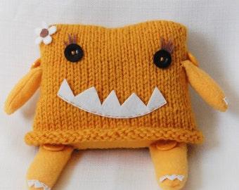 Little Miss Monster Plush in Gargoyle Gold
