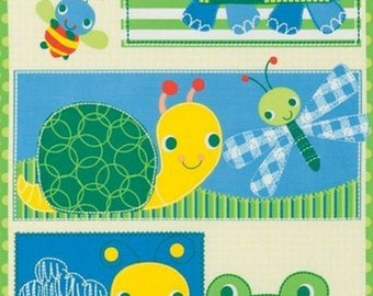 Fabric Panel Pond Pals BTP Timeless Treasures quilting sewing crafts