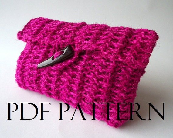 Crochet Clutch Bag Pattern : CROCHET BAG PATTERN crochet Clutch Bag Pouch Bag Crochet Purse pattern ...