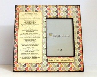 5x7 12x12 Large Picture Frame Cute Flowers