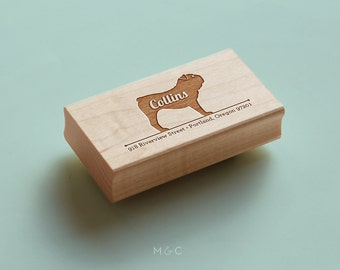 Bulldog - Personalized Return Address Stamp