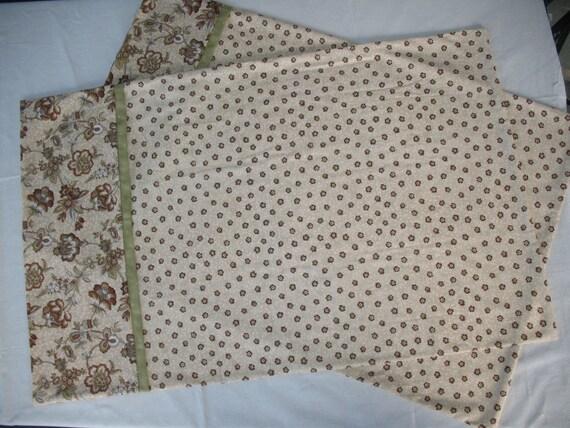 pillowcase set standard size handmade. Black Bedroom Furniture Sets. Home Design Ideas