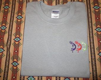 Embroidered Kokopelli T shirt