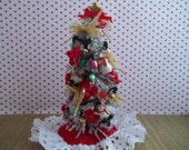 Dollhouse ChristmasTree 1:12 Scale,Snowman