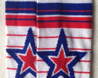 Fourth Of July Star Baby Legs/ Patriotic Leg warmers