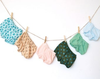 Girls Bloomers / Bubble Shorts - You choose color and pattern