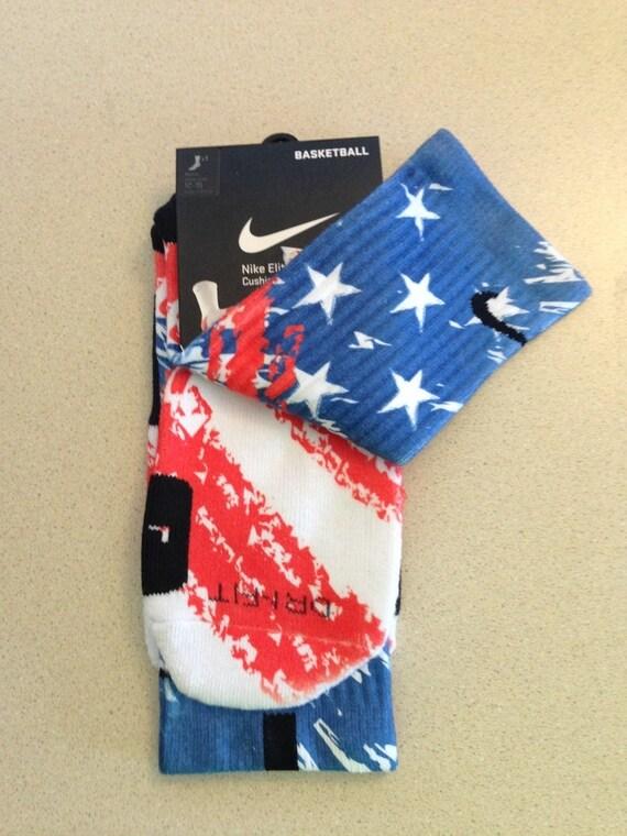 nike store id hong kong - CUSTOM Elite Nike chaussettes ��toiles et rayures par F5Boutique