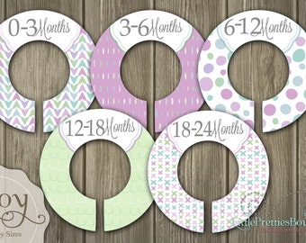 On Sale! Spring Joy Baby Closet Dividers - Assembled