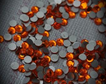 12ss Sun Flat back Crystallized Swarovski Crystal 100pcs